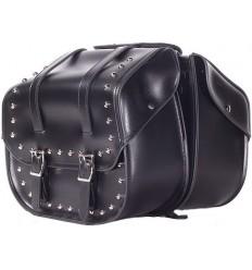 Medium Size Saddlebags with Studs