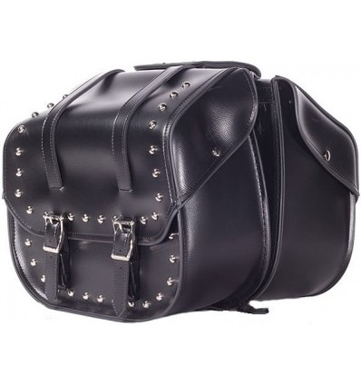 Medium Size Saddlebags with Studs