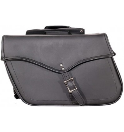 Medium Size Plain Style Saddlebags