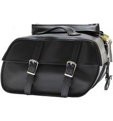 Medium Size Plain Style Saddlebags