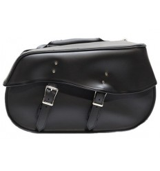 Large Plain Saddlebag without Studs