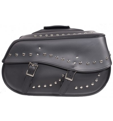 Large Saddlebags with studs