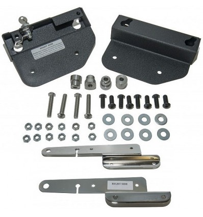 Easy Brackets for Harley Davidson Deuce motorcycles
