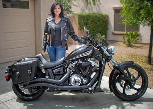 Easy brackets for yamaha star stryker motorcycle models for Yamaha stryker saddlebags