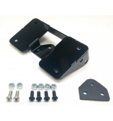 2018 Low Rider Laydown License Plate and Turn Signal Relocation Kit