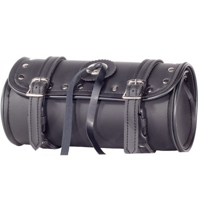 """Motorcycle Fork Tool Bag with Studs and Concho 12"""""""