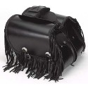 Medium Size Saddlebags with Fringe and Conchos