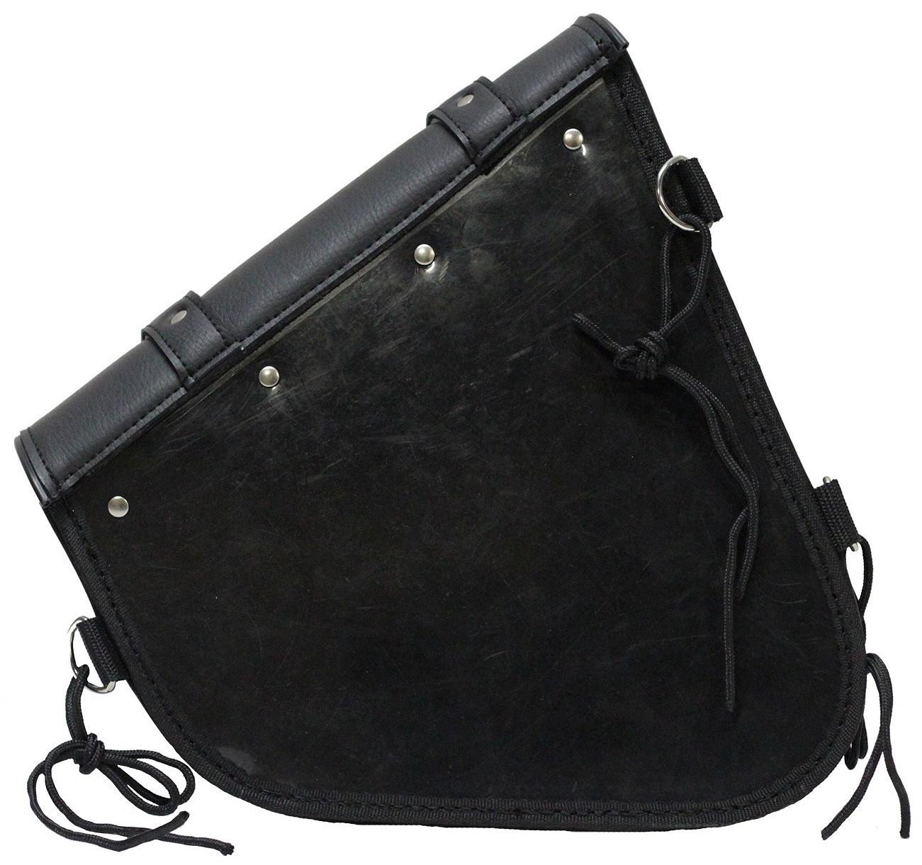 Left side swing arm bag