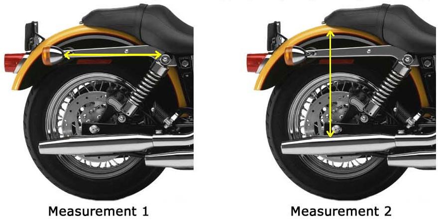 Saddlebag measurements