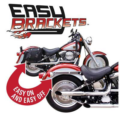Easy Brackets Easy On Easy Off Saddlebag Mounting System