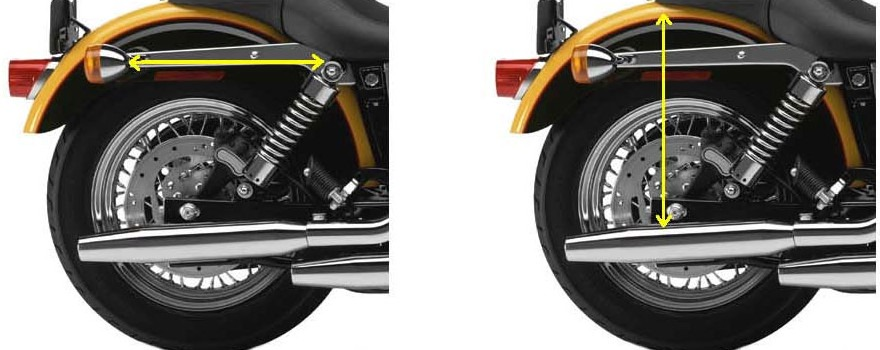 Choosing the right sized saddlebags for your motorcycle